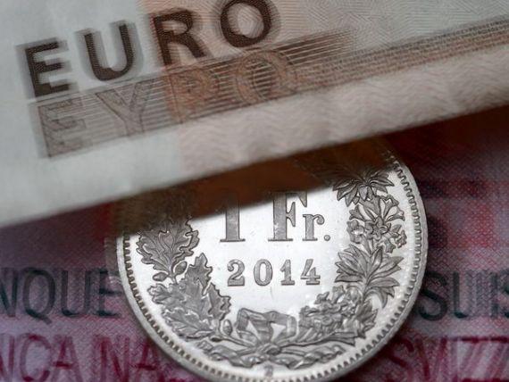 Criza din Grecia intareste si mai mult francul elvetian. Banca Nationala a Elvetiei: Moneda este mult supraevaluata, in timp va avea loc o scadere a cursului