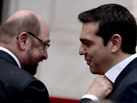 Presedintele PE:  I-am recomandat cu insistenta lui Tsipras sa se calmeze pe plan verbal . Grecia angajeaza una dintre cele mai mari banci din lume pentru consultanta in administrarea datoriei
