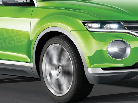 Mai mare ca Taigun, mai mic decat Tiguan. Surpriza de la Geneva: Polo SUV. Primele imagini cu noul Volkswagen