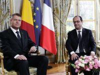 """Hollande: """"Renault participa cu 3% la productia Romaniei, este in interesul ambelor tari sa continuam"""". Francezii vizeaza si alte domenii pentru investitii"""
