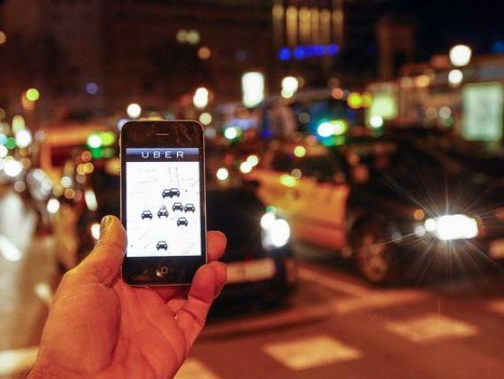 Platforma uberX se lanseaza in Bucuresti. Cum functioneaza aplicatia controversata care face concurenta taximetristilor