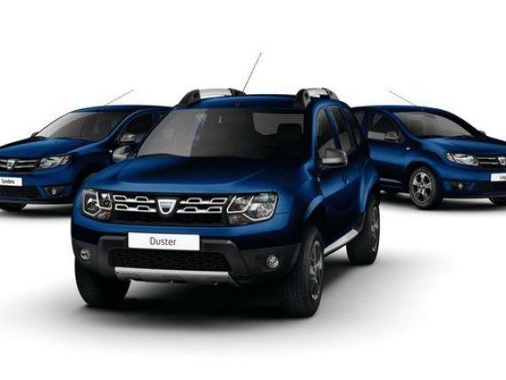 Dacia a prezentat la Geneva versiuni aniversare ale modelelor companiei, la 10 ani de la relansarea marcii romanesti pe pitele internationale