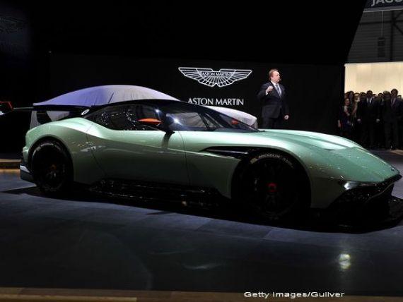 James Bond isi poate alege viitoarea masina de la Geneva, de la primul mare salon european al anului. Englezii i-au pregatit o bijuterie de 800 de cai putere. VIDEO