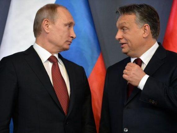 Prima lovitura pe care premierul Ungariei o da Europei, dupa vizita lui Putin la Budapesta. Orban:  Nu vom sustine un acord comercial UE-SUA care sa reduca suveranitatea tarii