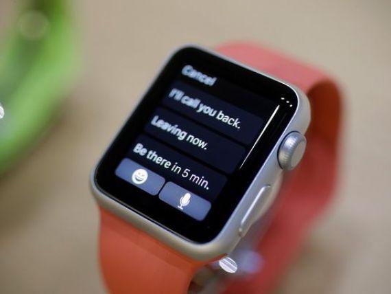 Apple a vandut 1,2 mil. de ceasuri inteligente in ziua lansarii pe piata a produsului, peste recordul inregistrat de companie in 2007, cu primul iPhone