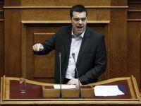 Tsipras ridica tonul la UE si anunta ca nu sustine sanctiunile impuse Rusiei. Creditorii Atenei inca nu deblocheaza finantarea, Grecia ramane fara bani