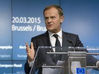 Tusk: UE, SUA sa depuna toate eforturile pentru Parteneriatul Transatlantic pana la sfarsitul anului. Iohannis: Romania este un sustinator activ al acestuia