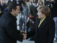 "Concluziile intalnirii dintre Merkel si Tsipras. Cancelarul german: Germania trateaza egal tarile UE, inclusiv Grecia. Premierul elen: Discutiile au fost ""pozitive"""