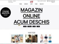 Retailerul suedez de imbracaminte H&M a deschis magazinul online in Romania