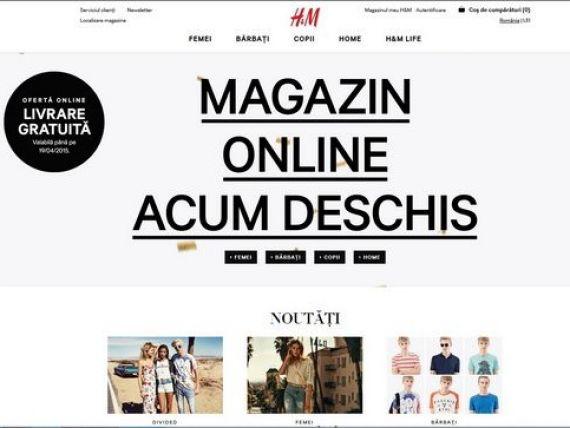 Retailerul suedez de imbracaminte H M a deschis magazinul online in Romania