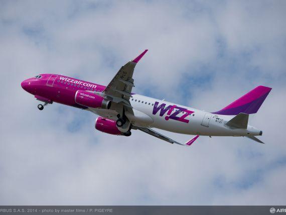 Wizz Air, cota de piata de aproape 31% in Romania, in iunie, inaintea TAROM