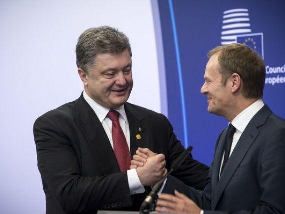 Liderii UE merg in Ucraina, la primul summit al celor doua parti de la semnarea Acordului de asociere, care a adancit prapastia intre Kiev si Moscova