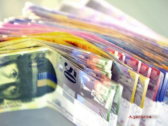 Leul a inceput pe depreciere saptamana de dupa vacanta de 1 Mai. Moneda nationala a pierdut 4 bani in fata francului