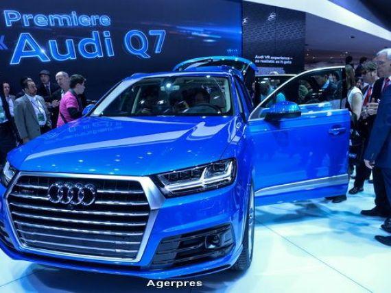 Vanzari record pentru Audi. Producatorul de masini de lux investeste peste 1 mld. dolari in noi fabrici si vrea sa ajunga la 60 de modele