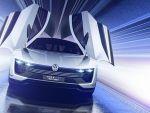 Cel mai puternic VW Golf construit vreodata. Arata ca o nava spatiala si consuma 2 litri/100 km. GALERIE FOTO