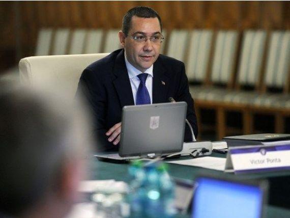 Ponta: Il astept pe ministrul Teodorovici sa vina cu o propunere concreta privind impozitarea bacsisului