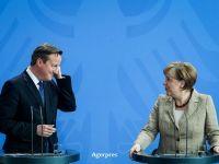"""Brexit, noua amenintare la adresa UE. Germania avertizeaza ca o iesire a Marii Britanii din UE ar fi """"dezastruoasa"""" pentru ambele state si pentru intregul bloc comunitar"""