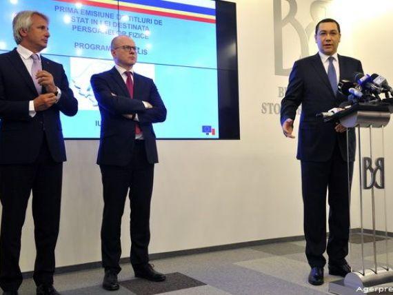 Moment istoric la BVB: titluri de stat care pot fi achizitionate de persoanele fizice. Ponta:  Este cel mai sigur mod de economisire, nu se pot pierde banii