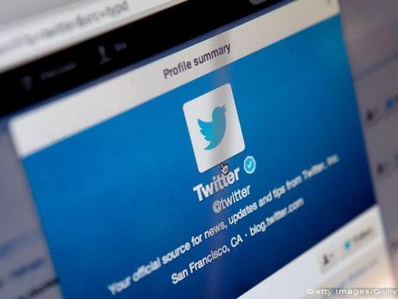 Actiunile Twitter s-au prabusit pe bursa de la New York. Compania ar putea fi scoasa la vanzare, pe fondul pierderilor continue