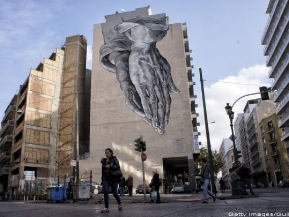 UE acorda Greciei finantare de urgenta de 7 mld. euro. Luni, Atena trebuie sa ramburseze datoria de 4,2 mld. euro catre BCE