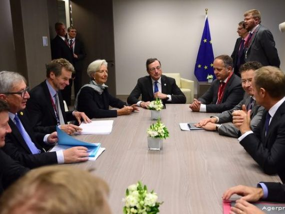 Draghi, BCE: Bancile elene sunt sigure cat timp Grecia ramane in programul cu creditorii
