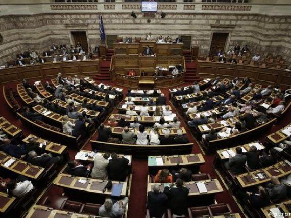 Parlamentul elen a adoptat al doilea pachet de reforme, cerut de creditorii Greciei