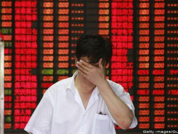 Prabusirea pietei bursiere din China, comparata de analisti cu Marele Crah de pe Wall Street din 1929.  Zarurile au fost aruncate , situatia e definita de  lacomie si frica