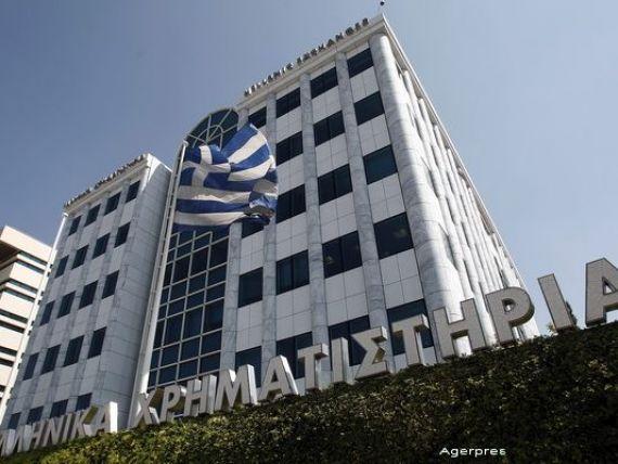 Actiunile National Bank of Greece si Eurobank cresc pe Bursa de la Atena. In primele trei zile ale saptamanii, titlurile bancilor elene au scazut cu 63%