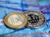 Banca Nationala a anuntat cursul valutar pentru 8 august. Francul elvetian, la cea mai mica valoare din ultimele 5 luni
