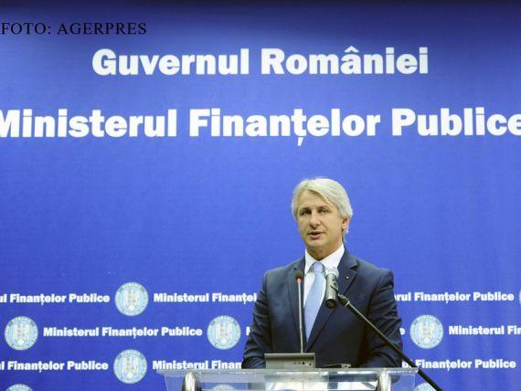 Ministerul Finantelor imprumuta inca 45 de milioane de lei de la banci, la o zi dupa ce a luat 300 de milioane