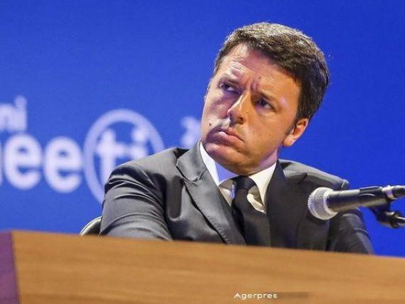 Italia blocheaza planul UE de a acorda 3 miliarde euro Turciei. Juncker: Cred ca premierul Renzi greseste criticand CE la fiecare colt de strada