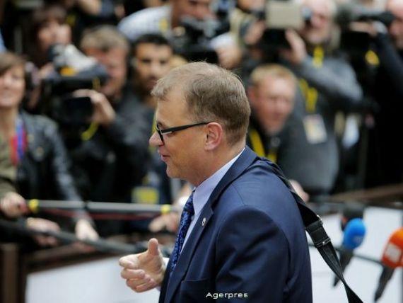 Primul discurs al unui premier finlandez in 22 de ani. Economia se contracta de trei ani si are cea mai mica rata de crestere din Europa. Sindicatele ameninta sa  blocheze  Finlanda
