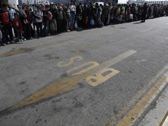 Cotele obligatorii, puse pe  tapet : Grecia se teme ca statele vest-europene vor prelua refugiatii calificati si ea va ramane cu ceilalti