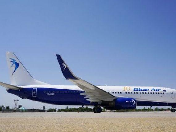 Blue Air, 23 de noi rute pe orarul de vara 2016 si afaceri estimate la 200 mil. euro anul acesta. De la cat pornesc preturile biletelor de avion