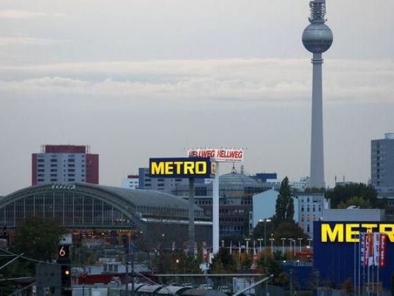 Lanțul german de retail Metro ar putea ajunge la cehi și slovaci.  Noua ofertă de preluare subevaluează substanţial compania