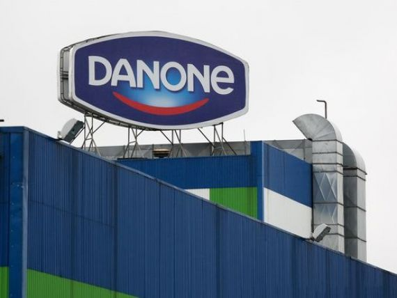 Afacerile Danone în România au crescut cu 3%, anul trecut