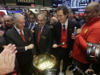 Ferrari a demarat in forta pe Wall Street. Actiunile constructorului italian, crestere de 15% la debutul pe NYSE