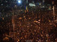 Romanii s-au facut din nou auziti si au cerut schimbarea. Peste 35.000 in Bucuresti. Peste 65.000 in toata tara, in strada. Manifestatiile, sustinute si de cei aflati in strainatate