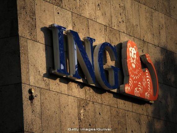 Profitul ING a crescut in T3, in urma reducerii provizioanelor pentru creditele neperformante
