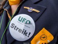 Sindicatul Lufthansa ameninta cu o noua greva, joi, vineri si luni