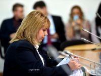 Anca Dana Dragu Paliu, validata in unanimitate ca ministru al Finantelor: Cred ca situatia economica a Romaniei nu necesita un ajutor financiar din partea FMI