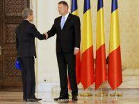 Romania are un nou Guvern. Iohannis: Nu cred ca a existat vreodata un Executiv asa de independent politic. Vreau sa cred ca este o premiera care ajuta tara
