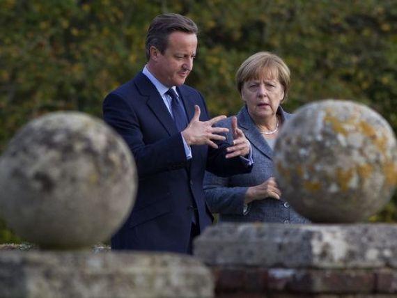 Aliatii bavarezi ai lui Merkel: Il sustinem pe Cameron in reforma UE, dar nu dorim  o Europa britanica