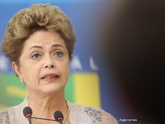 Dilma Rousseff: Subevaluarea crizei, cea mai mare eroare a guvernului Braziliei