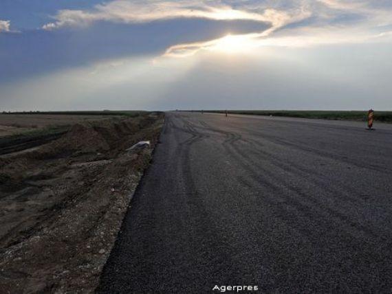 Astaldi - Max Boegl a inceput reparatiile pe sectorul de autostrada Arad-Nadlac