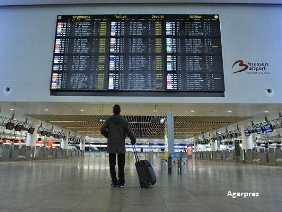 Actiunile companiilor aeriene si cele ale hotelurilor se prabusesc pe bursele europene, dupa exploziile de la Bruxelles. Investitorii se refugiaza in aur