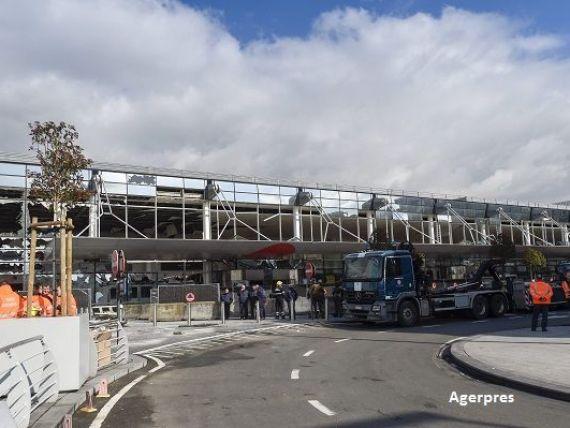 Aeroportul Zaventem din Bruxelles ramane inchis pana vineri, inclusiv. Tarom si-a anulat toate zborurile catre capitala Belgiei, pana duminica