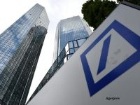 Deutsche Bank respinge posibilitatea unui ajutor de la statul german, dupa ce banca a primit o amenda record pentru afacerile din SUA. Valoarea pe bursa s-a injumatatit