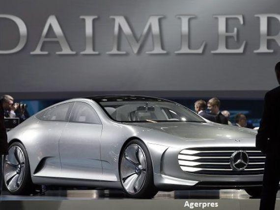 Daimler își face serviciu de ride-hailing. Grupul german cumpără Chauffeur Prive, rivalul mai mic al celebrei Uber