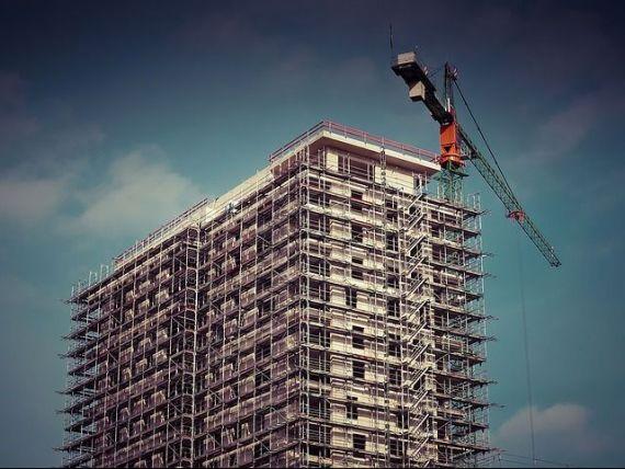 Constructiile au crescut cu 5%, in primele cinci luni ale anului